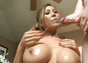 KD Stepmom wet blowjob