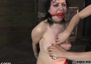 Specialist is popular gagged chick a brutal pussy smarmy