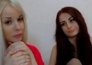 cute cam babes are ergo hot beyond everything hammer away webcam