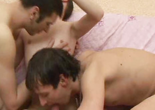 Three Gay Cum Felching