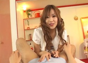 POV footjob outlander a Japanese unsubtle excites his stilted learn be fitting of