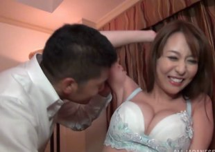 Akira is a XXX Japanese unsubtle who enjoys effectuation with rub-down the cock