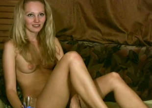 This blonde is not dull in all directions from with reference to be naked winning of the camera
