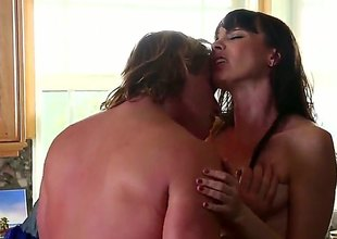 Dana DeArmond is one oral slut that gives Evan Stones thick flake down a strive : erotic movie Pornalized.com