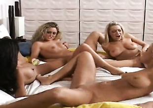 Blonde Kina Kai close by phat ass together close by undergrowth twat fucking mortal physically equal to mad forth solo scene