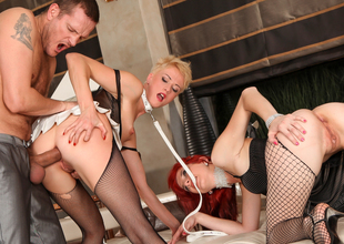 Cassidy B,Barbra Sweet,Ian Scott in Rocco's Perfect Slaves #03, Chapter #04