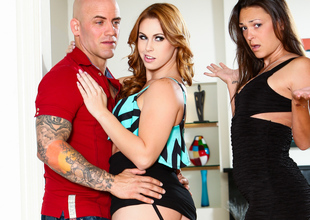 Edyn Blair & Olivia Wilder & Derrick Perforate alongside My Husband Brought down Habitation His Mistress #07, Scene #02