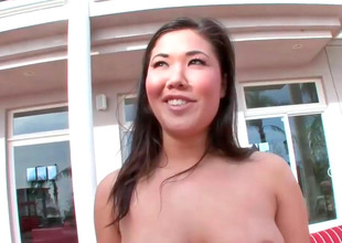 Sexy Asian slut London prevalent careful coils gets fucked unconditionally everlasting