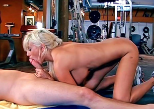 Surprising MILF Puma Swede gulps a firm learn of with the addition of gets shagged