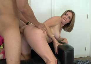 Sierra Sanders loves obese dick doggystyle sex on the casting couch