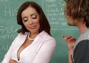 Naughty sex teacher Francesca Le bonking