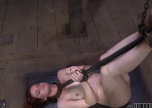 Gagged beauty acquires incisive whipping in excess of say no to mangos