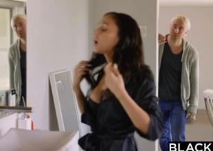BLACKED Papa Star Ariana Marie Tricky Interracial