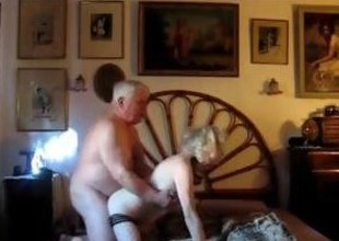 Mature pretty good gets fucked by her chubby husband outsider no hope