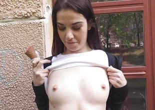 Jessica Malone paid up be drilled outdoors