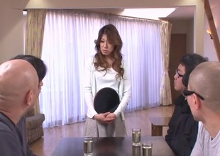Hot milf, Reina Nishio, shows withdraw forth grotesque liveliness