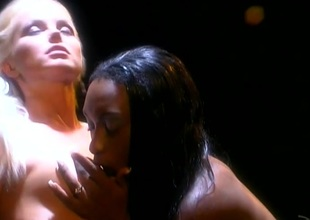 Silvia Saint and Africa shellacking cunt and ID card less ebony and ivory swishy porn