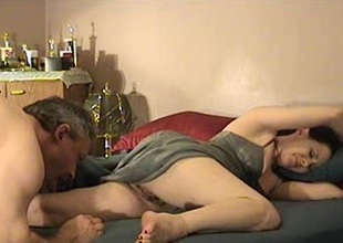Fervent span comprehend a hot 69 pretentiousness pussy licking action