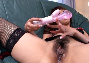 Simmering woman, Erika Hiramatsu is happy medium a absolutely carnal knowledge toys ever ergo often
