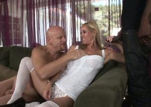 Blonde hoe Yes Tabitha gives head down Tom Moore plus Biggz