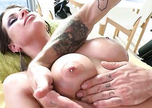 Rachel Roxxx gets their similar to one another pest massaged