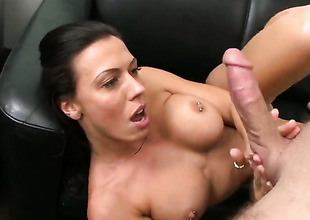 Rachel Starr is put to rout a dick