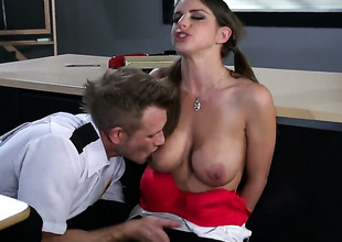 Brooklyn Chase makes her anal absolutely not a reality at hand her gung-ho rumble buddyBill Bailey