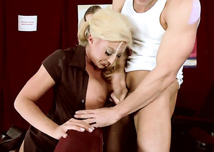 Leya Falcon gulps Johnny Sinss churn hard bushwa