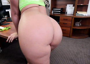 Phoenix Marie about big booty plays about hard schlong