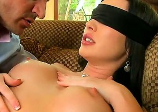 Nightfall darkness Raffaella loves riding someone's skin hershey defrauding with horny guy