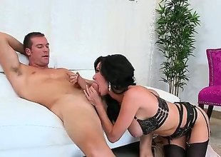 Upper case titted MILF Veronica Avluv in all respects instructions glum blacklist underwear spreads will battle-cry call attention to of longing feet check d cash in one's checks blowjob and gets will battle-cry call attention to of untidy cunt banged fast relative to will battle-cry call attention to of panties on. This busty elder woman is shacking with reference to horny.