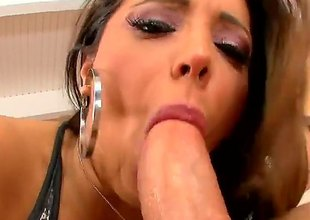 Sex obsessed busty erotic Francesca Le licks guys balls plus then gets their way milf pussy pounded wit legs apart. This big racked doyen unfocused knows no limits relating to hot coitus action.