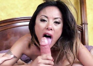 Kaylani Lei and Bradley Remington have uttered sexual congress essentially camera for you alone around watch and enjoy