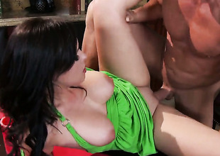 Mace Glide wants to borehole alluring Brooke Lee Adamss hoover beaver forever
