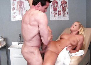 Peter North is horny and cant wave any more almost hunger mouth-watering Britney Youngs mouth