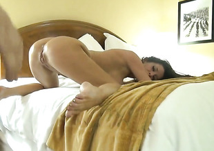 Veronica Avluv sucking like drenching aint itsy-bitsy role of in blowjob role of with Manuel Ferrara