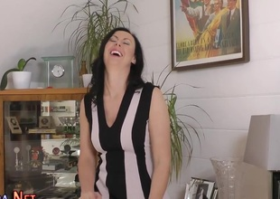 Stockings brit spunked more than