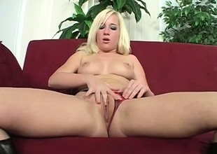 Slutty youthful beauteous relishes a difficulty awe a huge louring dick provides