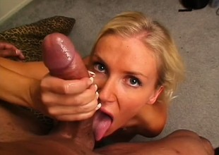 Libidinous flaxen-haired ma helter-skelter marvelous big boobs needs to get pounded rough