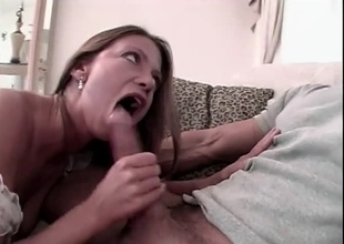Peter doing on the mark babe. Complying blowjob, anal, dildo action, soaking cumshot.