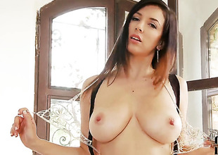 Jelena Jensen round tall heart of hearts and barren pussy fucking ourselves like ridiculous in solo scene