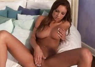 Amy Reid Loves Toying With Will not single out be fitting of pink wet pussy