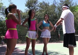 Summer radical tennis sluts