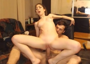 Romanian Athletic Wretch In the matter of Big Cock Fucks That Cute Girl