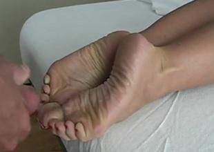 branlette sur pieds