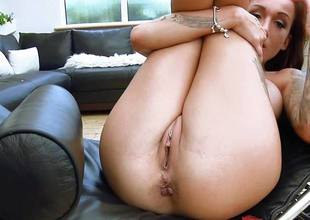 Injurious british babe Chantelle Asmodeus rammed unfathomable cavity in their way sexy pussy and asshole