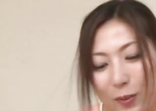 Mirei Yokoyama amazes in unconstrained Asian POV deception