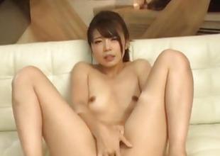 Yura Kurokawa mind blowing bushwa sucking porn show