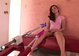 Interesting complain uses a hardcore going all over bed machine all over drill her asshole