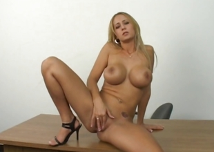 Sexy adult beauteous shows even so she masturbate